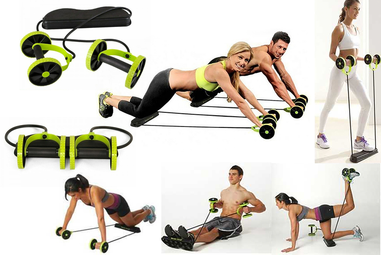 £13.99 (from Hey4Beauty) for an abdominal resistance fitness roller