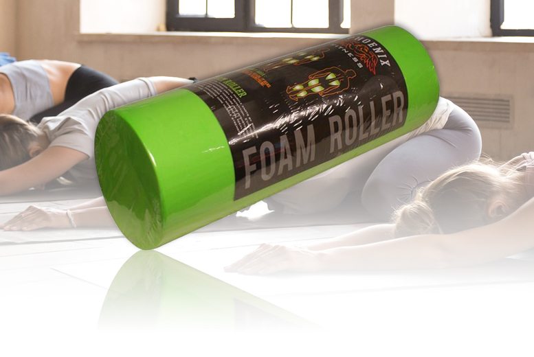 £11.99 (from London Exchainstore) for a fitness yoga foam roller