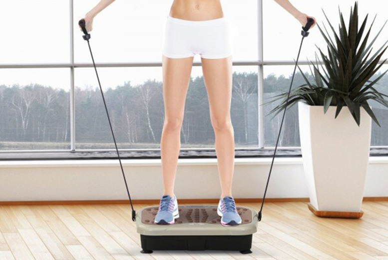 £49 instead of £125 for a vibration plate machine from MH Star - save 61%